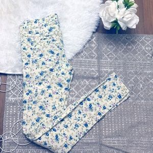 LOVE FIRE FLORAL JEANS
